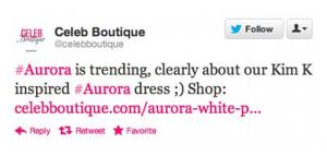 Aurora tweet