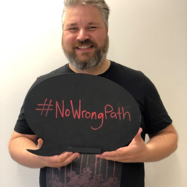 Ross talks about #NoWrongPath