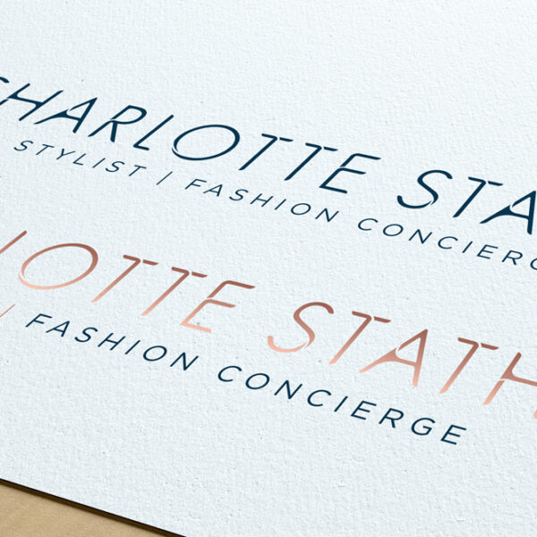Charlotte Stather Logo Mockup