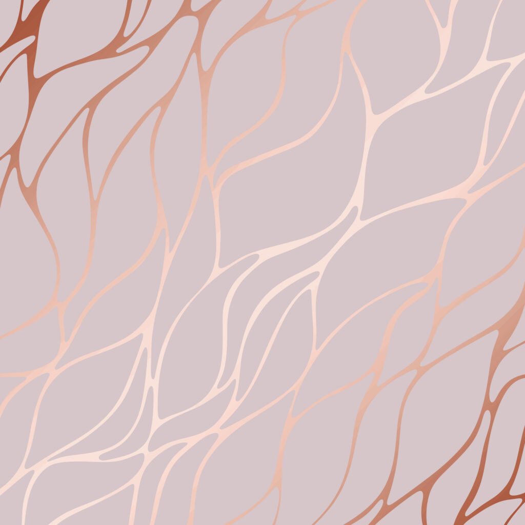 Rose Gold Branding Pattern