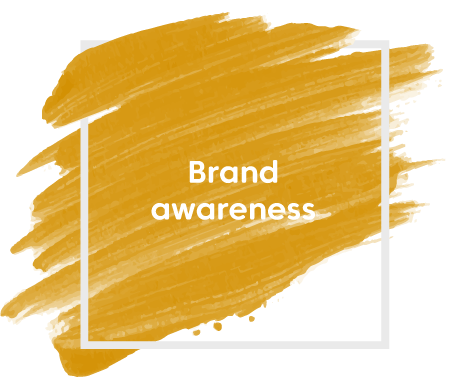 Brand awareness paint streak