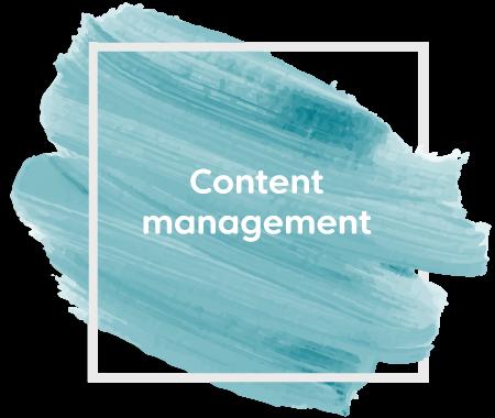 Content management paint streak
