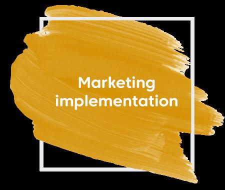 Marketing implementation paint streak