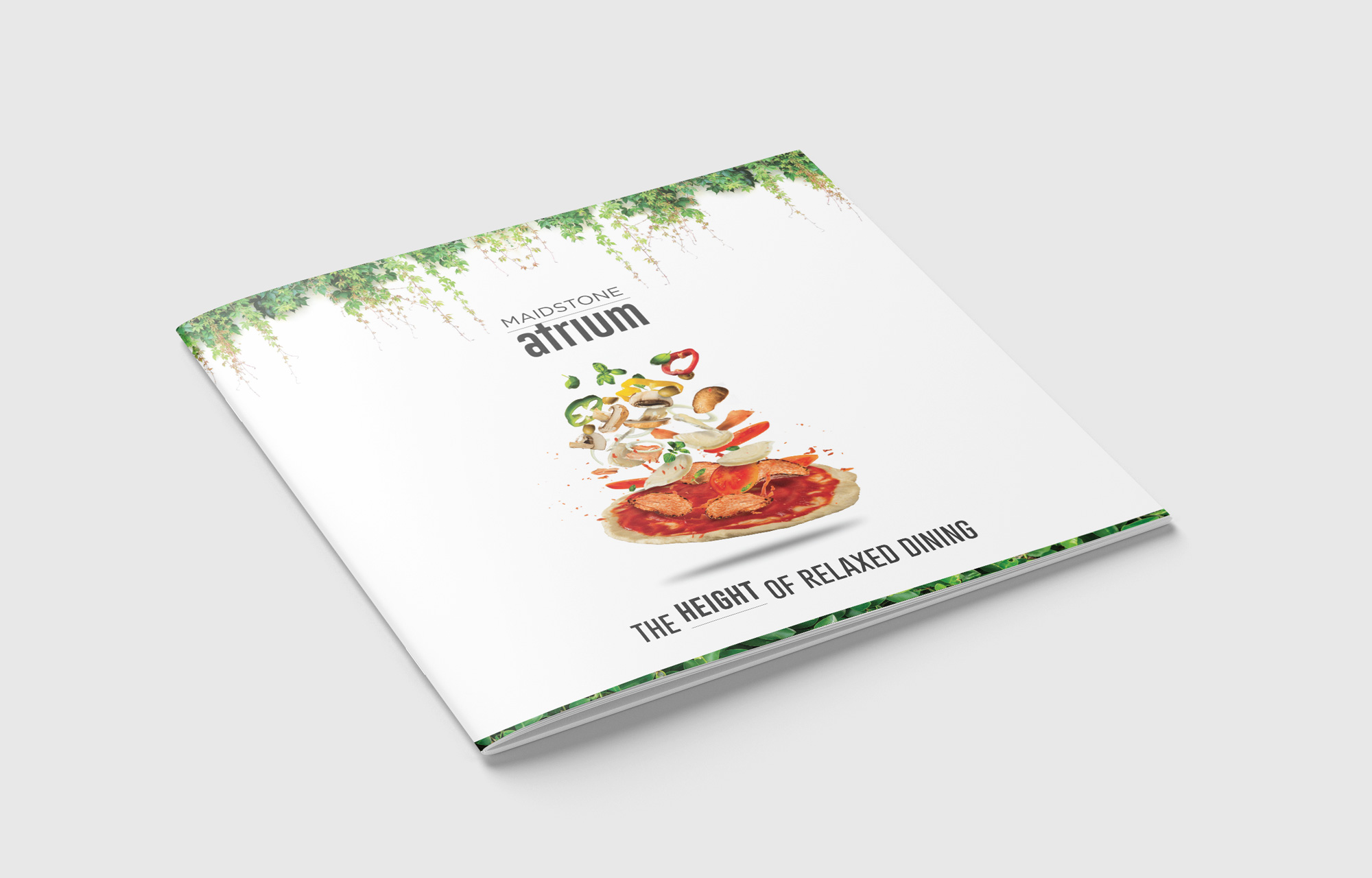 Brochure Cover mock up